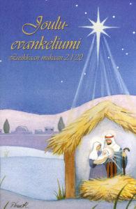 Jouluevankeliumi-kirjakortti (seimi)