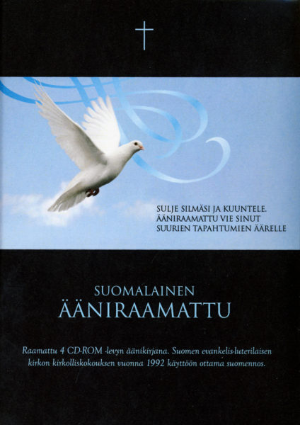 Suomalainen Ääniraamattu: Uusi käännös, VT+UT, MP3-versiona