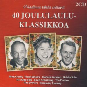 Maailman tähdet esittävät - 40 Joululauluklassikkoa 2CD