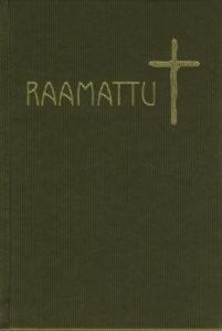 Raamattu apokryfikirjoin, oliivinvihreä