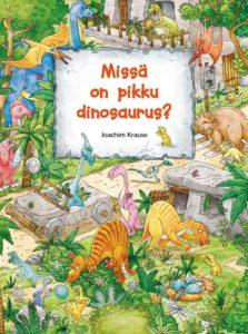 Missä on pikku dinosaurus?