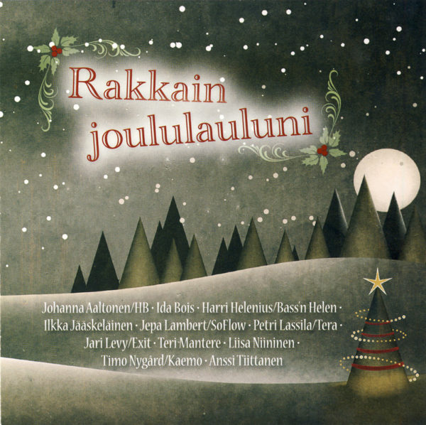 Rakkain joululauluni CD