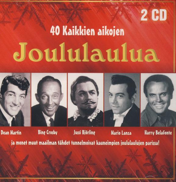 40 kaikkien aikojen joululaulua 2CD