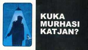 Sarjakuvatraktaatti: Kuka murhasi Katjan?