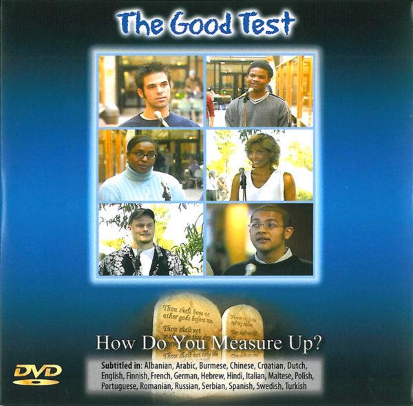 The Good Test -evankeliointi-DVD