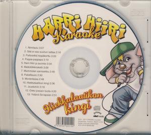 Hiekkalaatikon kingi - musiikkitausta cd