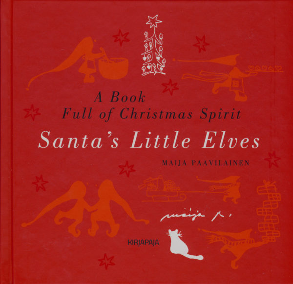 Santa's little elves - a book full of Christmas spirit