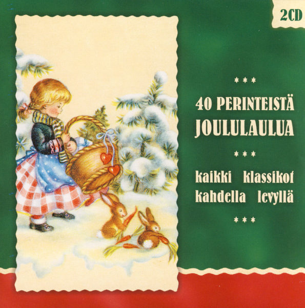 40 perinteistä joululaulua 2CD
