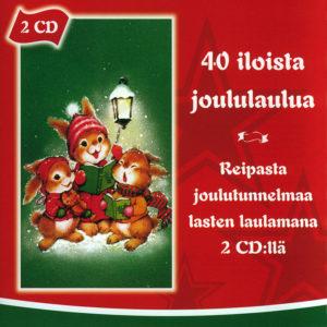 40 iloista joululaulua 2CD