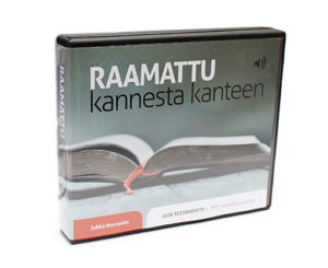 Raamattu kannesta kanteen MP3-muodossa - Uusi Testamentti 7CD
