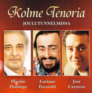 Kolme Tenoria Joulutunnelmissa CD
