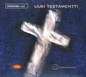 Mp3-ääniraamattu, UUSI TESTAMENTTI (-92 käännös) MP3 CD