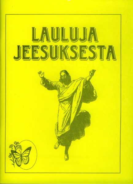 Lauluja Jeesuksesta -lauluvihko akordein