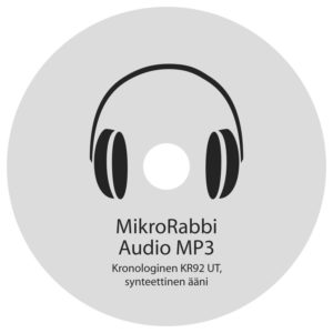 MikroRabbi Audio MP3 (Kronologinen KR92 UT, synteettinen ääni)