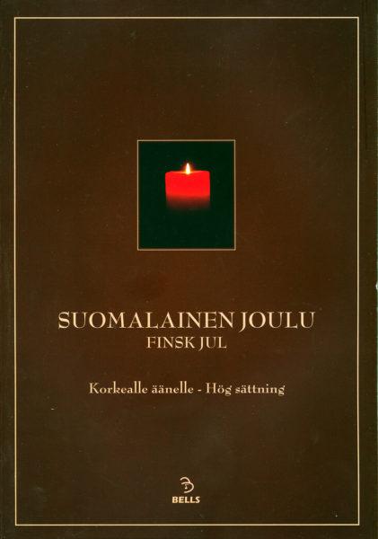 Suomalainen joulu -korkealle äänelle nuottikirja