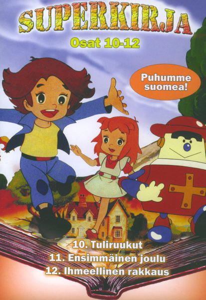 Superkirja osat 10-12 DVD