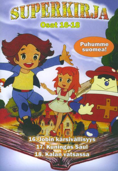 Superkirja osat 16-18 DVD