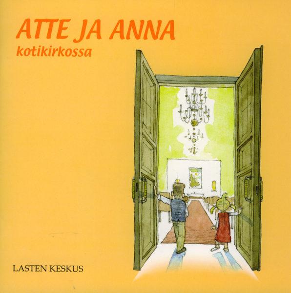 Atte ja Anna kotikirkossa