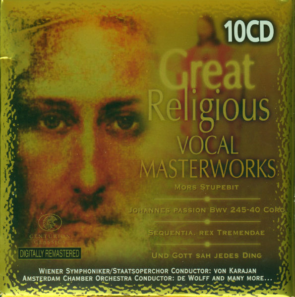 Great religious vocal masterworks 10CD