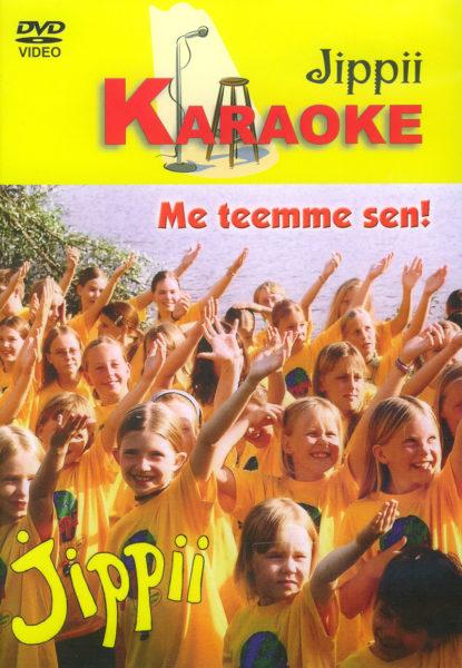 Jippii - Me Teemme Sen karaoke DVD