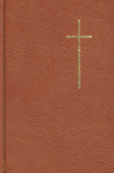 Raamattu (Biblia), ruskea, keskikoko tekonahka (115x170 mm)