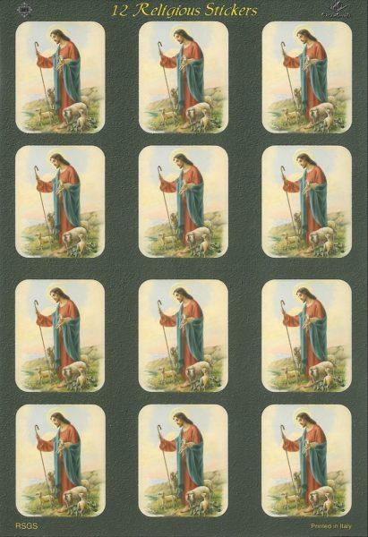 Tarrat: Hyvä Paimen, Jeesus seisoo laitumella