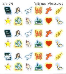 Tarrat: Kristillisiä symboleja, 6 arkin setti