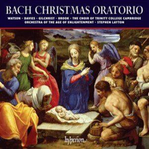 Bach, J S - Christmas Oratorio - Layton, Stephen CD