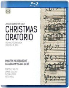 Bach, J S - Christmas Oratorio - Herreweghe, Philippe Blu-ray