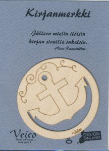 Ankkuri-kirjanmerkki
