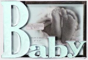 Baby-kehys emaloitu sininen