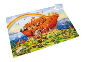 Palapeli, Nooan arkki (48 palaa, lattialle koottava)