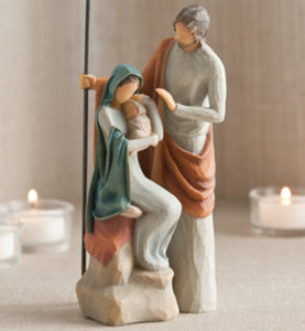 Willow Tree - The Holy Family / Pyhä perhe