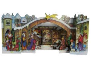 Joulukalenteri 3D - seimi
