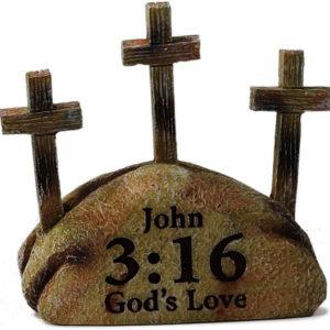 Kolme ristiä, koriste-esine