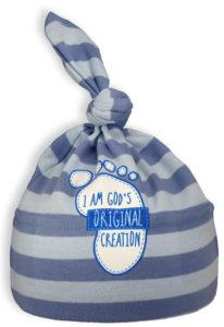 Vauvan hattu, siniraita