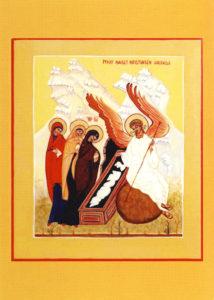 Kortti: Pyhät naiset Kristuksen haudalla