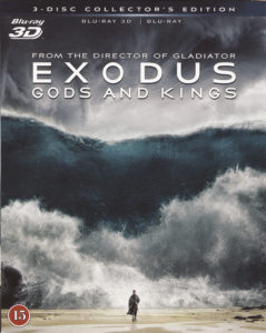 Exodus - Gods and Kings blu-ray 3D + blu-ray