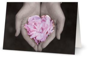 Kaksiosainen kortti: Suurin niistä on rakkaus