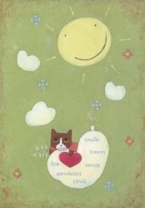 Postikortti: Aurinkoisia päiviä
