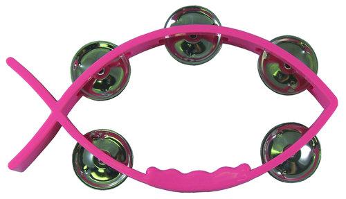 Kala-tamburiini, pinkki