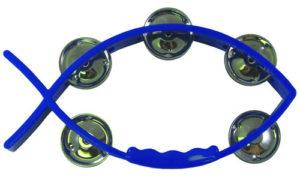 Kala-tamburiini, sininen
