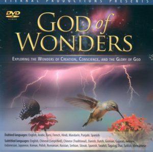 God of Wonders DVD (monikielinen, ei suomenkiel. tekstitystä)