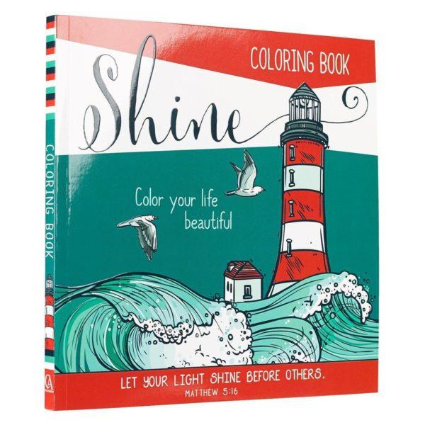 Shine -värityskirja