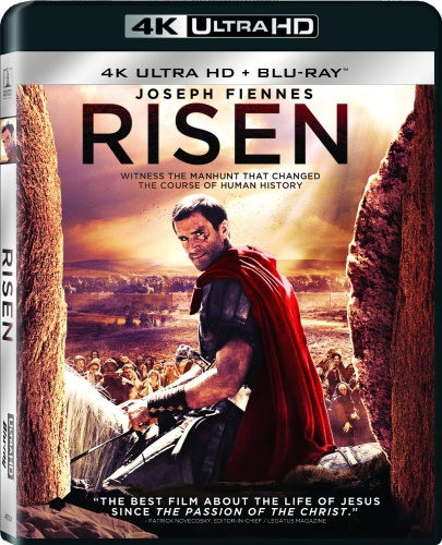 Risen Blu-ray (4K Ultra HD + Blu-ray)