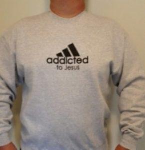 Collegepaita, Addicted to Jesus (XL)