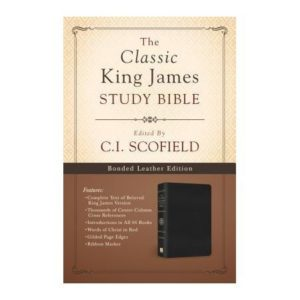 Classic King James Study Bible - (C. I. Scofield)