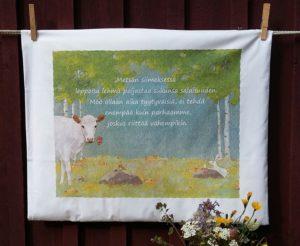 Tyynyliina, Leppoisa lehmä