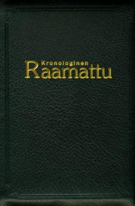 Kronologinen Raamattu, musta nahkakansi, vetoketju