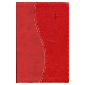 Suomi - englanti Raamattu (punainen)